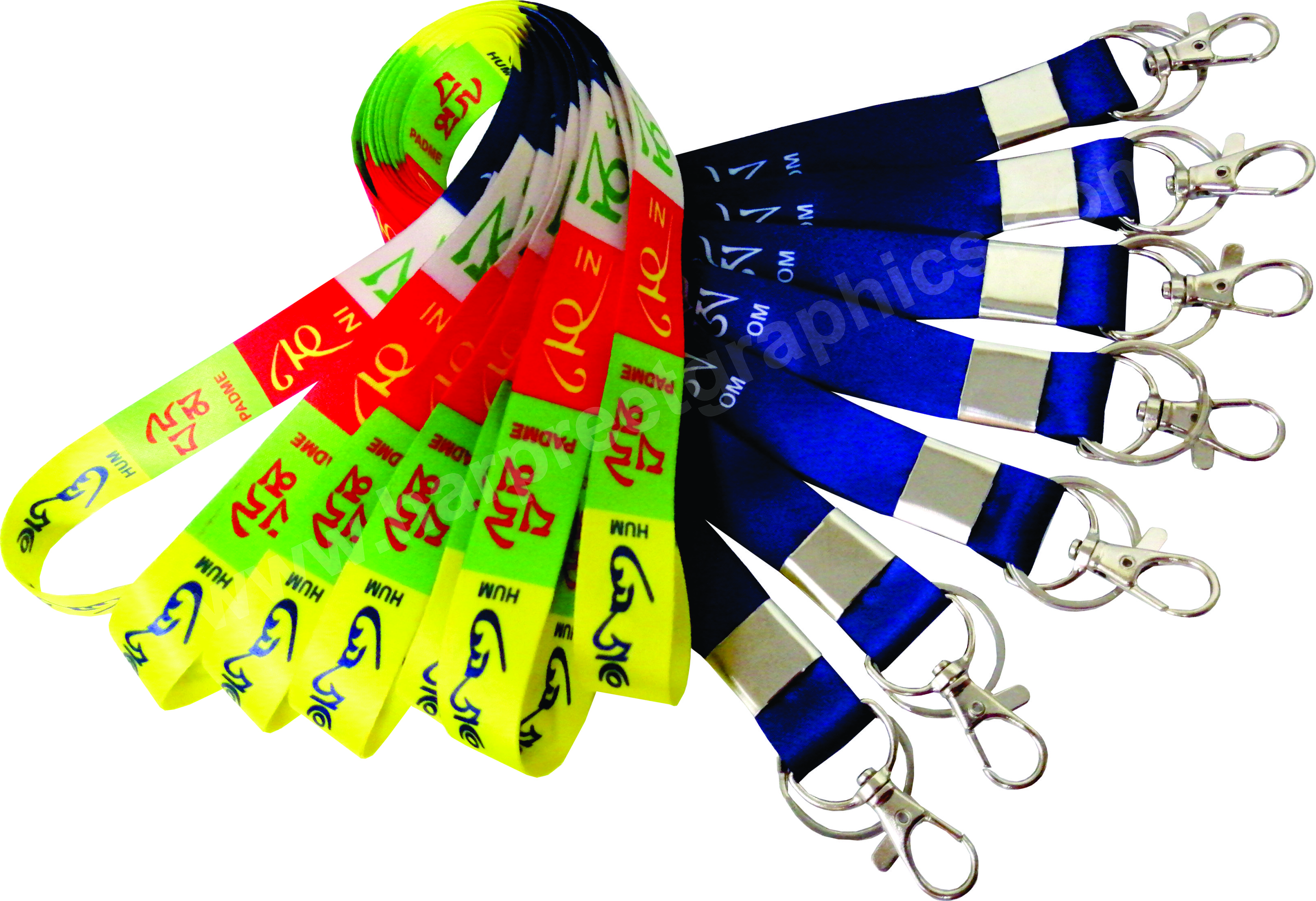 DIGITAL@@MULTI COLOR LANYARDS