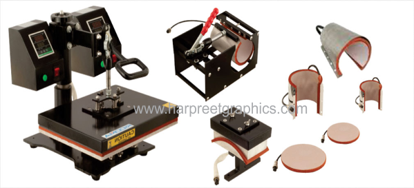8 IN 1 HEAT TRANSFER MACHINE