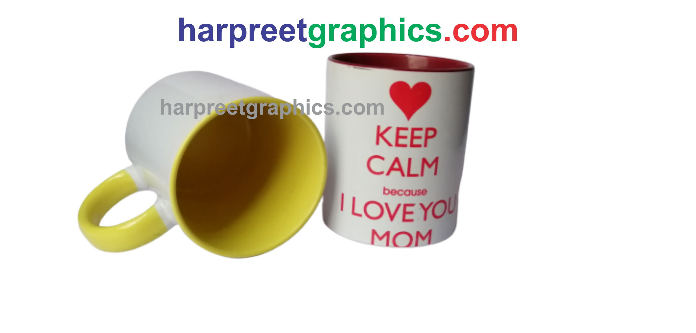 SUBLIMATION INNER COLOR MUG