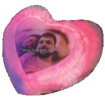 LED PILLOW HEART (16